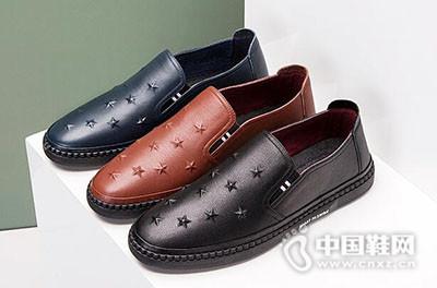 奥康2017韩版套脚乐福鞋潮鞋