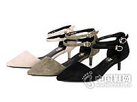 森达2017时尚魅力优雅女高跟凉鞋