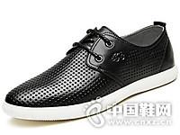 VOLO/犀牛2017英伦系带休闲鞋男