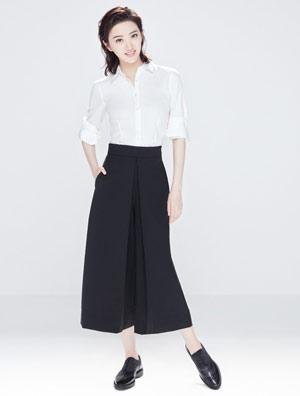 GEOX健乐士大中华区全新品牌代言人――景甜
