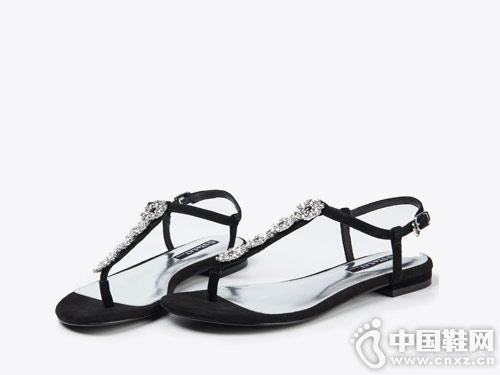 2018星期六时尚春夏女鞋新款产品
