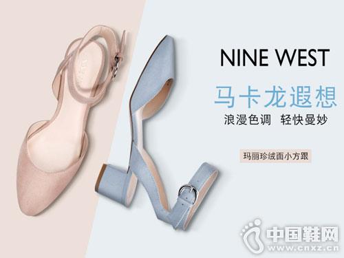 2018Nine West玖熙前包时装春鞋新款