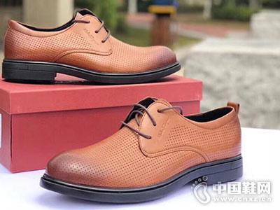 欧维思男鞋2018休闲皮鞋新款