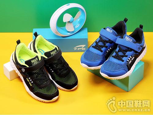 七波辉童鞋2018新款休闲运动鞋产品