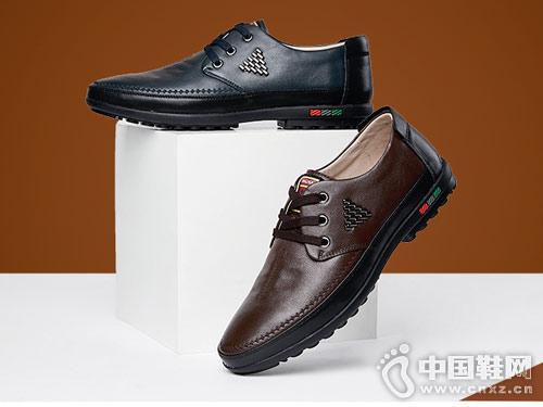 康奈男女鞋2018新款休闲皮鞋产品