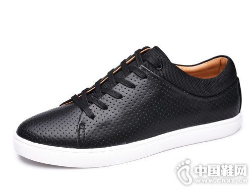 金猴男女皮男休闲板鞋产品