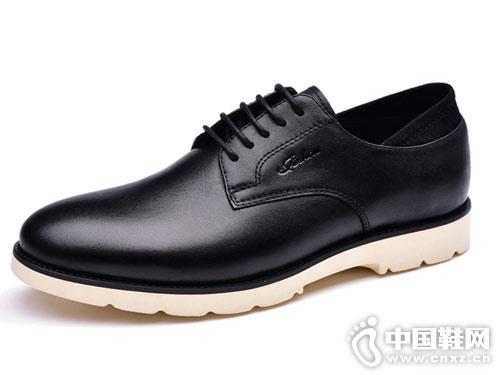 金猴男女皮鞋2018新款男休闲鞋产品
