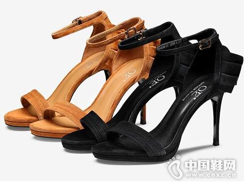 欧意2018女鞋新款高跟凉鞋产品