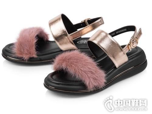 太阳舞sundance女鞋2018厚底凉鞋