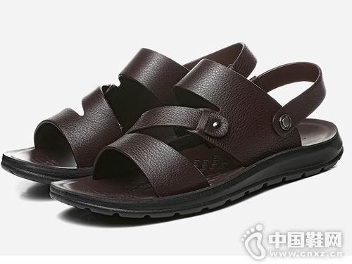 老爷车皮鞋2018新款凉鞋