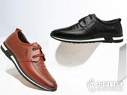 犀牛VOLO男鞋2018新款休闲鞋