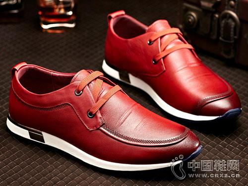 嘉誠王男鞋2018新款休閑鞋