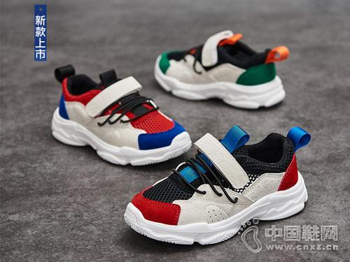 木木屋童鞋2018新款男童运动鞋
