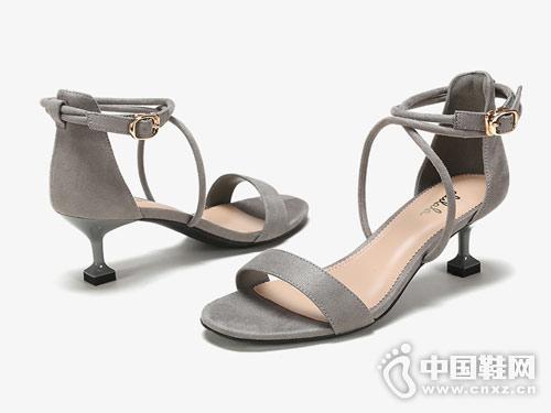 鞋柜女鞋2018新款高跟凉鞋