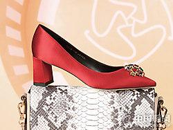 圣恩熙女鞋2018新款中跟单鞋