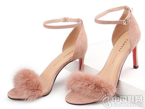 康莉Comrade女鞋2018新款凉鞋