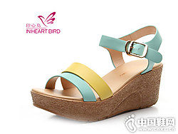 印心鸟女鞋新款厚底凉鞋