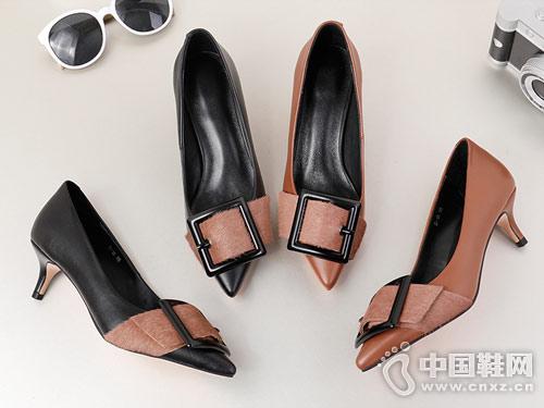 G-vill时尚女鞋2018时装高跟鞋