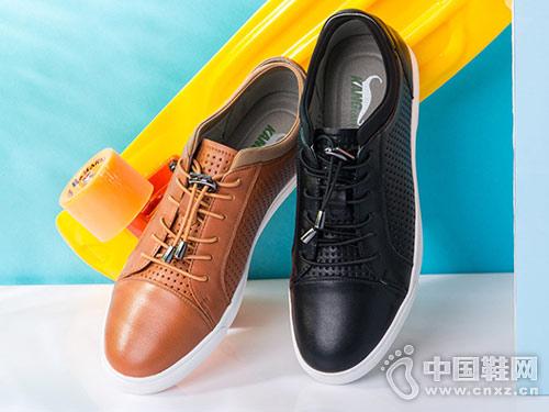 康龙休闲男鞋2018新款休闲鞋