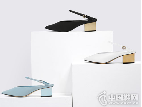 Charles & Keith女鞋2018新款后空单鞋