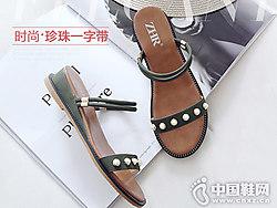 ZHR女鞋2018新款平底凉鞋产品