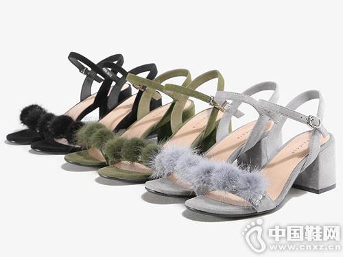 色非女鞋2018新款凉鞋