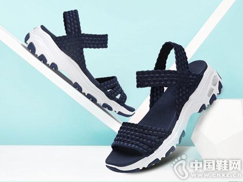 斯凯奇休闲鞋2018新款休闲凉鞋