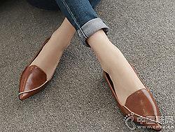 伟森男女鞋2018新款平底单鞋