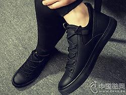 伟森男女鞋2018新款休闲皮鞋