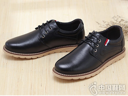 骆驼牌男女鞋2018新款男休闲单鞋