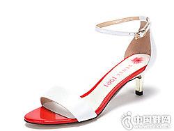 Sense1991女鞋2018新款高跟凉鞋