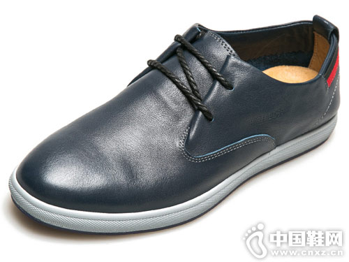 里奇波士男鞋2018新款休闲皮鞋