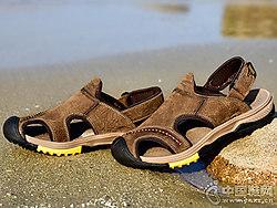 骆驼动感男鞋2018新款户外凉鞋