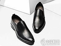 宾度BENATO男鞋2018新款真皮皮鞋