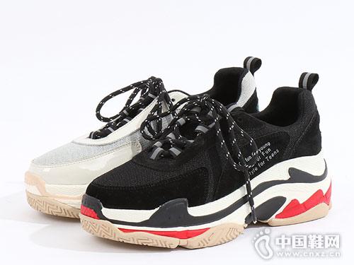 易美特卖女鞋2018新款老爹鞋