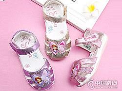 迪士尼童鞋2018新款女童凉鞋