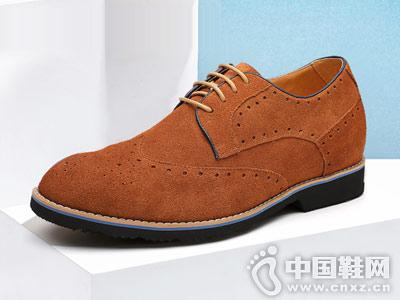 乐昂男鞋2018新款皮鞋