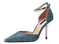 卡斯高女鞋2018新款中空单鞋