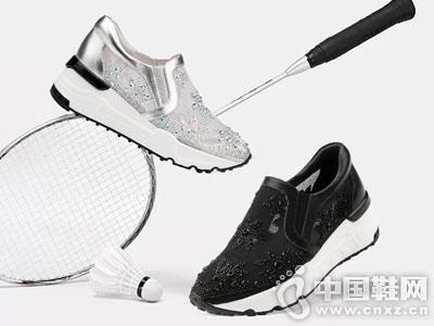 自由漫步男女鞋2018休闲运动鞋