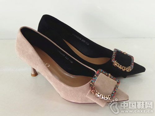 步步高女鞋2018新款高跟鞋