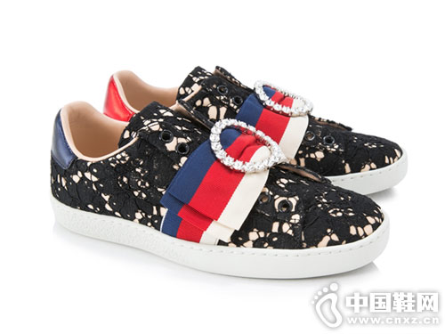 古驰GUCCI女鞋2018新款休闲板鞋