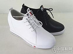 步步高女鞋2018新款厚底单鞋