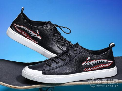 布莱希尔顿2018新款休闲皮鞋