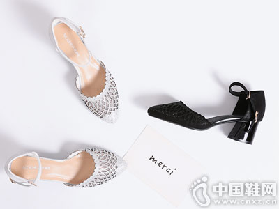 茉莉花女鞋2018新款中空凉鞋