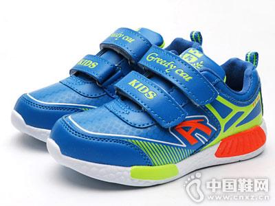 贪婪猫童鞋新款男童运动鞋