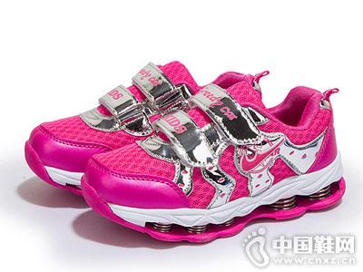 贪婪猫童鞋新款女童运动鞋