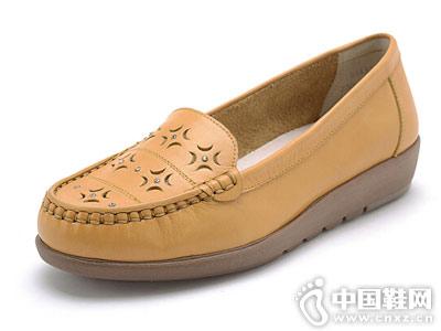 亨达休闲鞋2018新款豆豆鞋