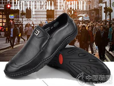 麦高男鞋新款休闲皮鞋