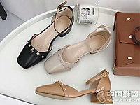 美丽角色女鞋2018新款小粗跟单鞋