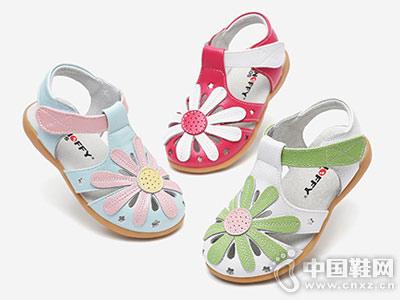 斯纳菲童鞋2018新款中空凉鞋